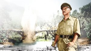 """Image from the movie """"The Bridge on the River Kwai"""""""