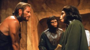 """Image from the movie """"Planet of the Apes"""""""