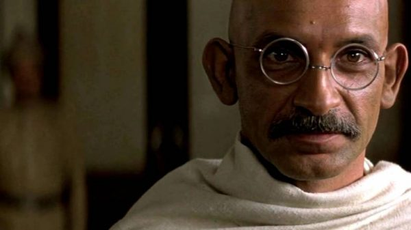 """Image from the movie """"Gandhi"""""""