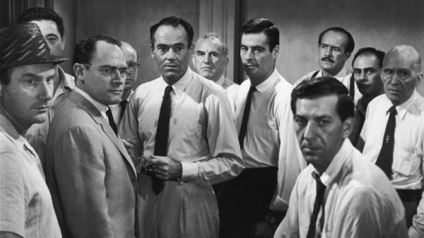 """Image from the movie """"12 Angry Men"""""""