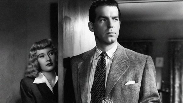 """Image from the movie """"Double Indemnity"""""""
